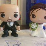 sposi in stile funko