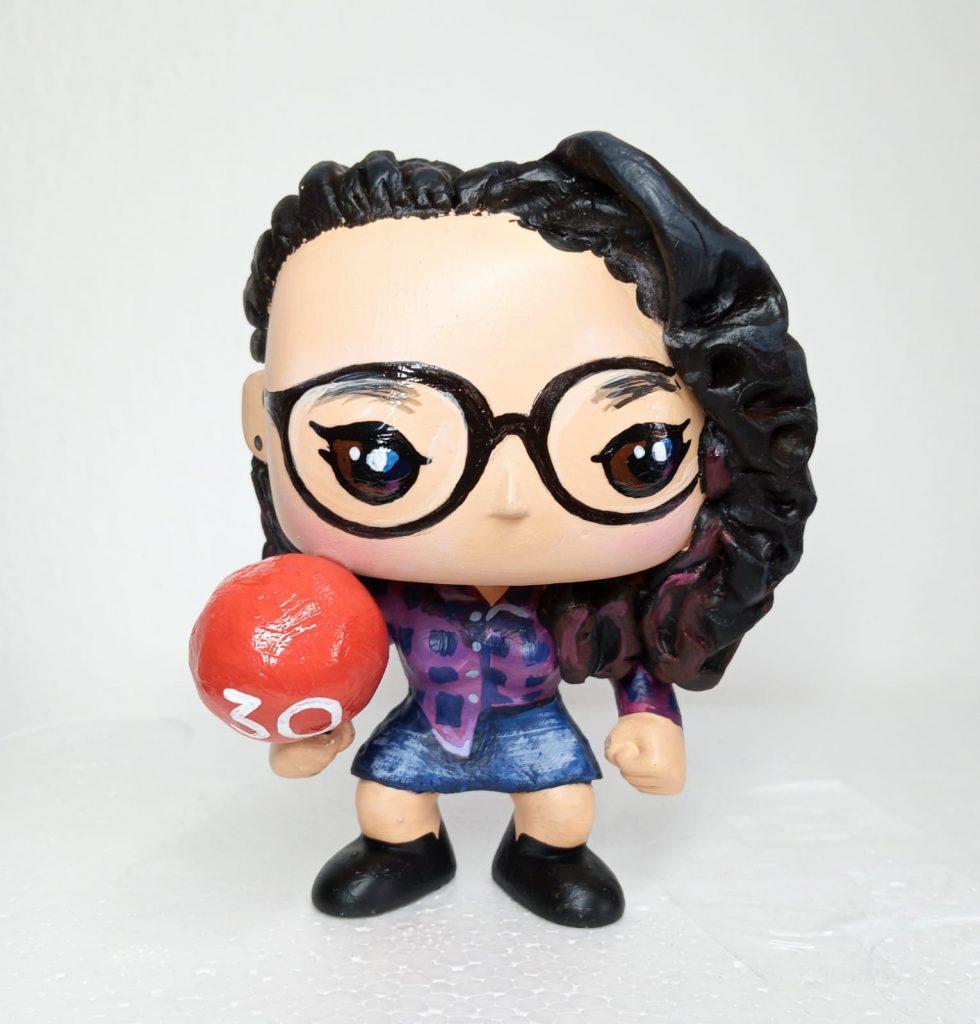 funko personalizzati ragazza con palloncino