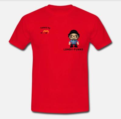 t-shirt-personalizzata-stile-funko-pop-con berretto